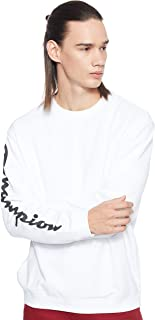 Champion Mens 213180 WW001WHT Sweatshirt 213180 WW001WHT
