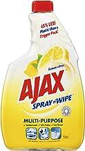 Ajax Spray n' Wipe MultiPurpose Antibacterial Disinfectant Household Cleaner Lemon Citrus Refill Value Pack Made in Austra...
