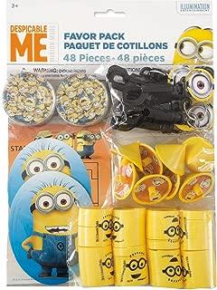 Despicable Me Minions Party Favor Kit, 48pc