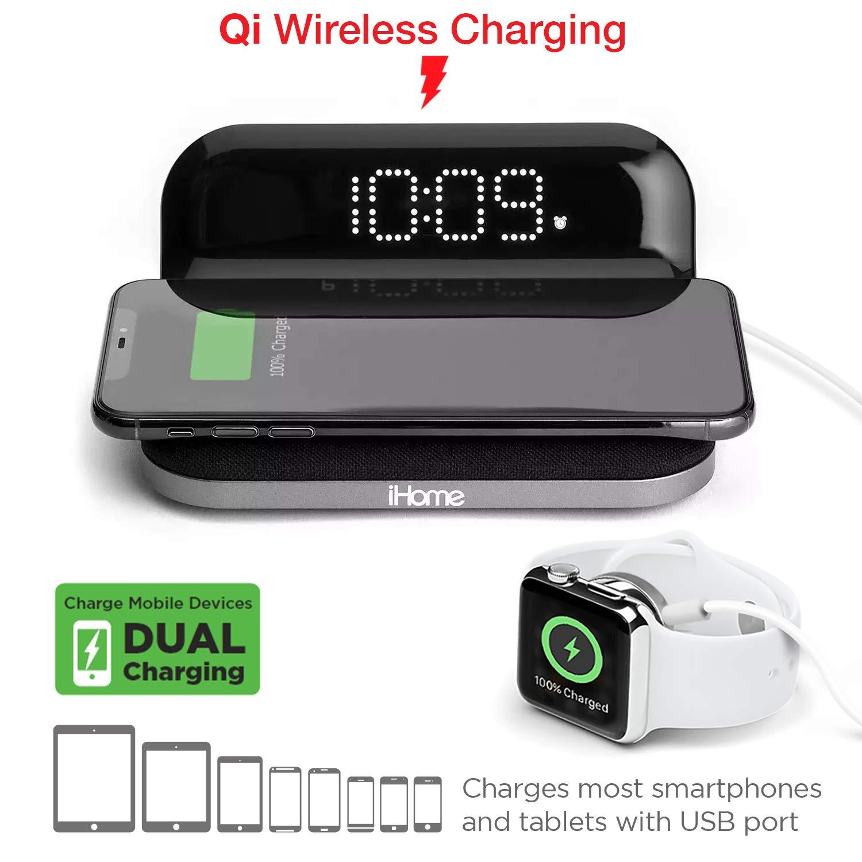 iHome Compact Digital Wireless Charging