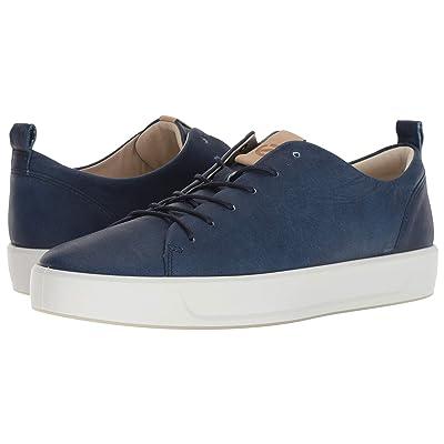 ECCO Soft 8 Sneaker (Indigo 5/Powder Blue Moon) Men