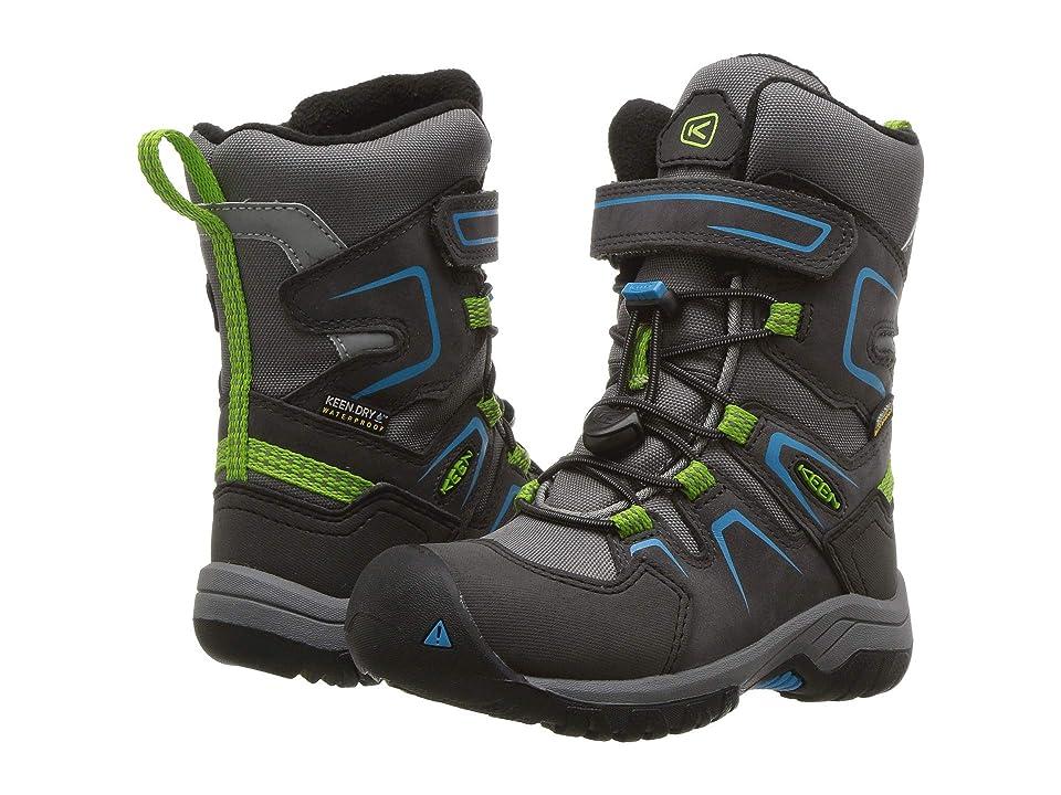 Keen Kids Levo Winter WP (Toddler/Little Kid) (Magnet/Blue Jewel) Boys Shoes