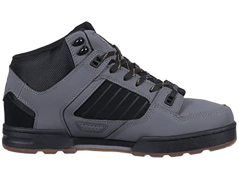 Snow Charcoal DVS Militia Shoe GoldOlive Black Boot Company Black rWAnIOA