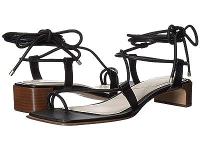 rag & bone Cindy Tie Sandal (Black) Women