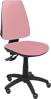 PIQUERAS Y CRESPO 14S–Chaise de Bureau Ergonomique avec mécanisme Sincro, Roues de parquet, Tissu Bali