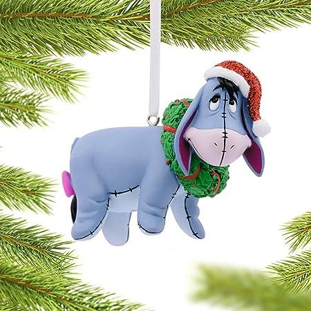 Eeyore winnie pooh  cute bottlecap christmas ornaments tree decorations holidays