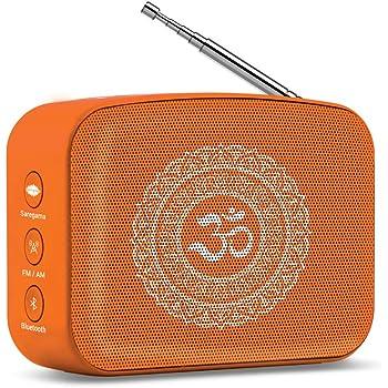 Saregama Carvaan Mini Bhakti Bluetooth Speaker (Orange)