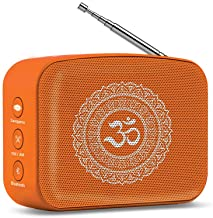 Saregama Carvaan Mini 2.0 Bhakti- Music Player with Bluetooth/FM/AM/AUX (Orange)