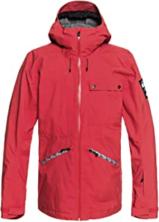 Quiksilver Men's SPINDYE 20K Snow Jacket, Flame, M