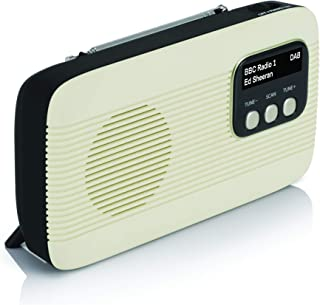 Lava Akoni 2 – DAB+ Digital & AM/FM Portable Radio with Bluetooth and Built-in Rechargeable Battery with Auto-Scan, LCD Sc...