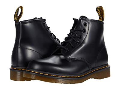 Dr. Martens 101 Yellow Stitch Shoes