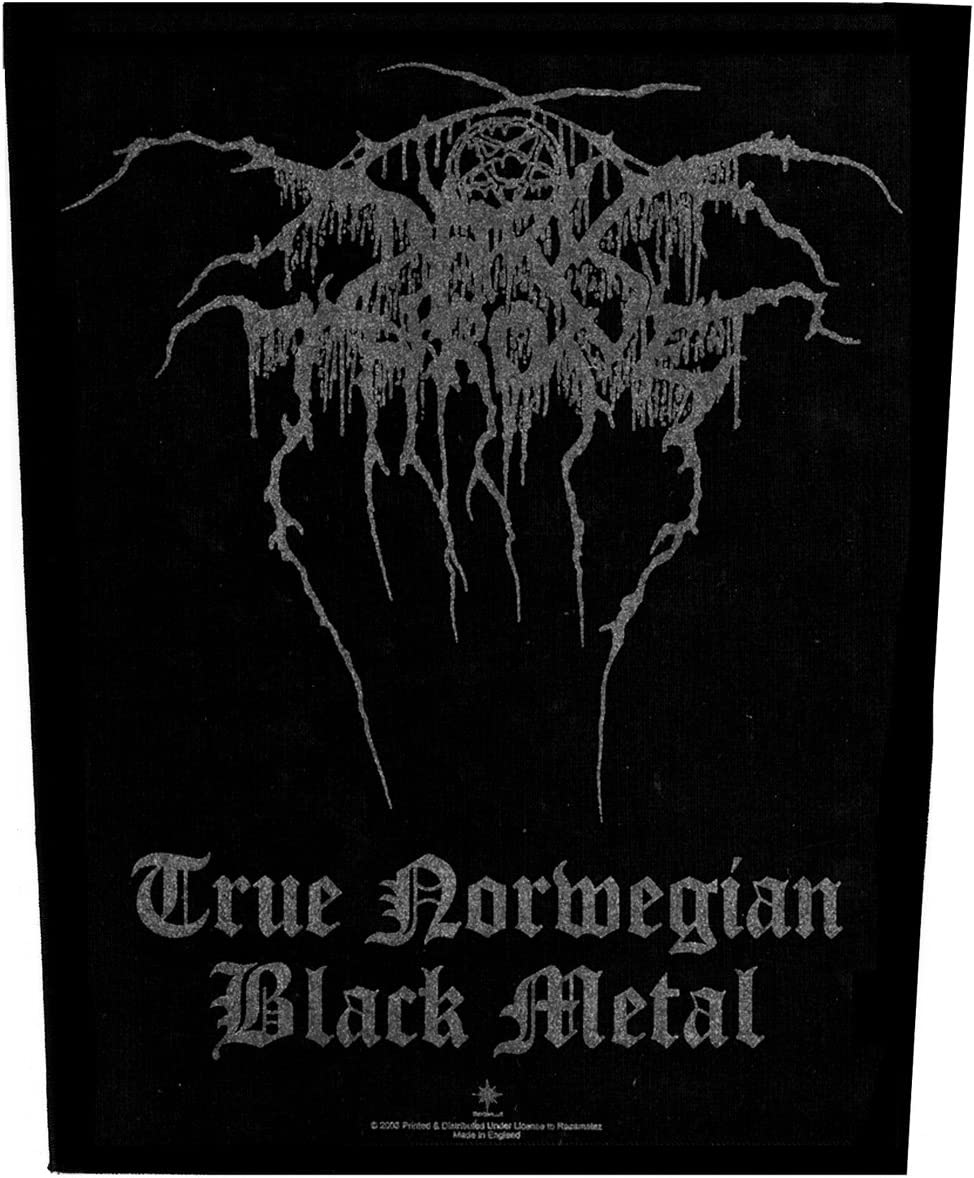 Black metal band patch. Dissection big back patch