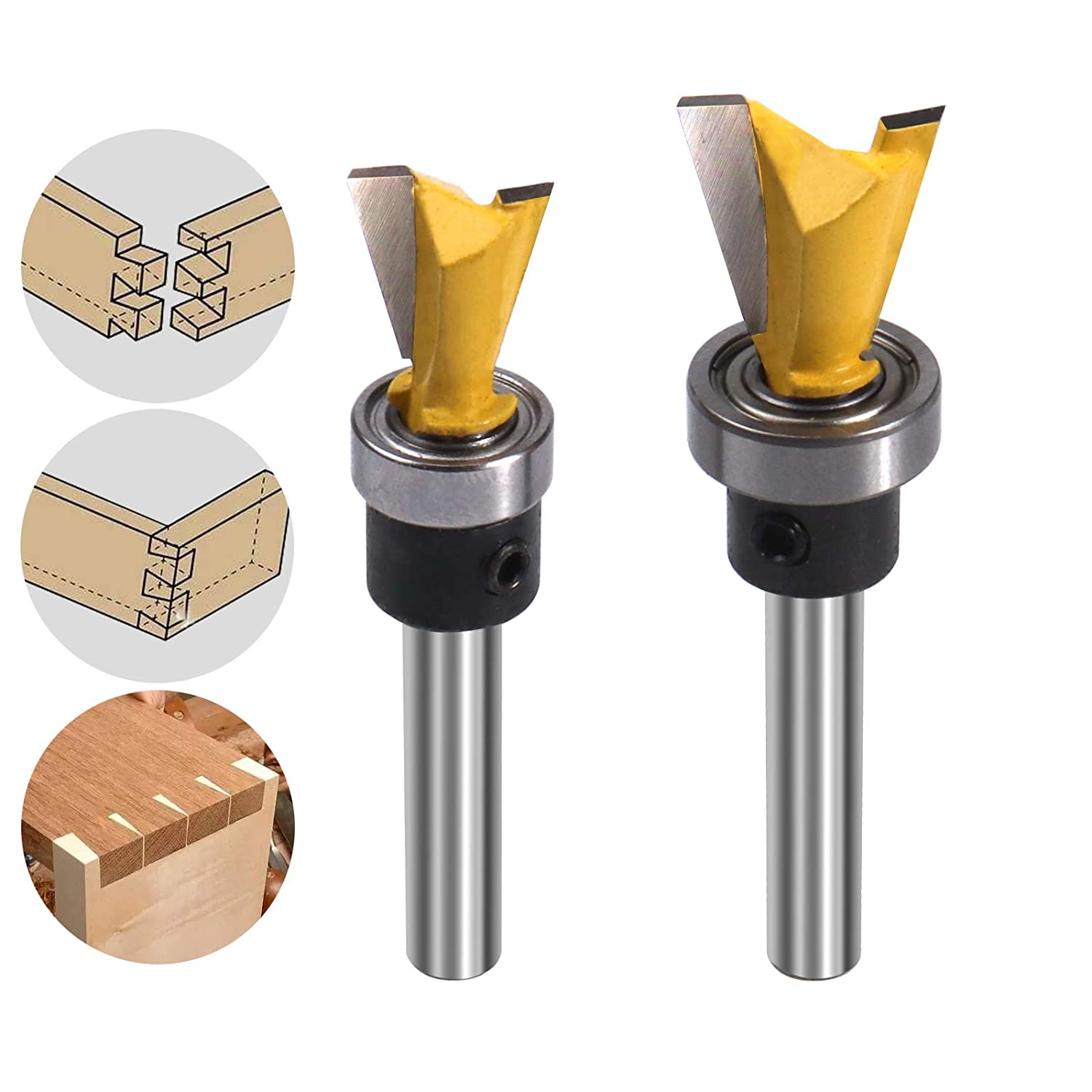 Dovetail Router Bit 1 4 Inch Diamet 8 Cutting 2 5 Discount mail Baltimore Mall order Shank