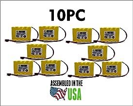 10pc 850.0035-850.0035 Emergi-Lite/Kaufel Replacement Battery
