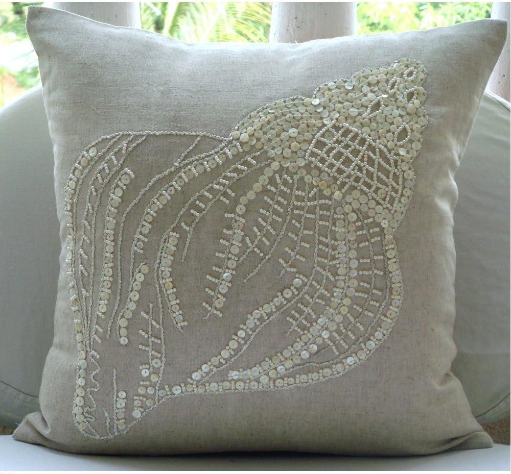 The Year-end annual account HomeCentric Designer Natural Beige Pillow Shams 26x Classic European