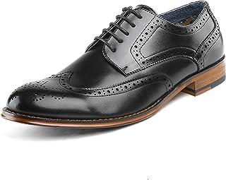 Bruno Marc Paul Clásico Oxfords Zapatos de Vestir para Hombres
