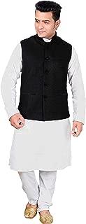 Men's Nehru Gandhi Modi Style Waistcoats ribbed velvet mix Indian waistcoat 1013