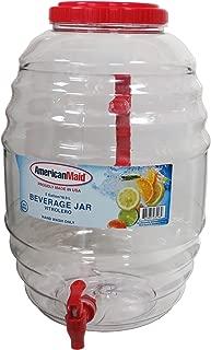 American Maid 3 gallon Vitrolero Beverage Dispenser- Assorted colors