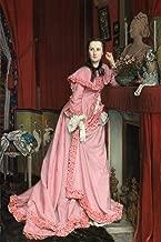 ArtParisienne Portrait of The Marquise de Miramon née Thérèse Feuillant by Jacques Joseph Tissot Wall Decal, 48