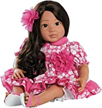 Paradise Galleries Reborn Toddler, Hawaiian Hula Girl Doll Lei Aloha, 20 inch GentleTouch Vinyl, 5-Piece Doll Gift Set