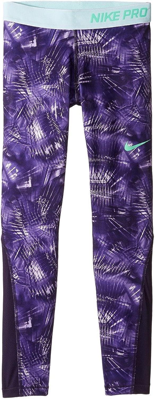 Nike Girls Pro Cool Tights (XL (16 Big Kids), Purple Dynasty Purple Dynasty ...