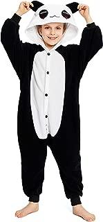 NEWCOSPLAY Unisex Children Cute Panda Pyjamas Halloween Costume