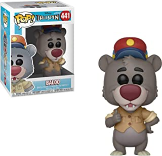 Baloo: Funko POP! Vinyl Figure & 1 POP! Compatible PET Plastic Graphical Protector Bundle [#441 / 32084 - B]
