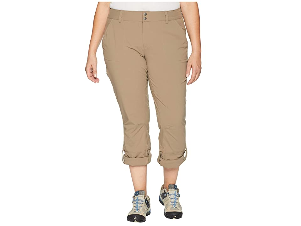 Columbia Plus Size Saturday Trail Pants (Truffle) Women