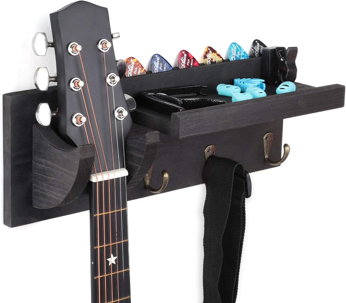 Bikoney Guitar Wall Hanger Bracket Hang Louisville-Jefferson County Mall Holder Mount Max 42% OFF