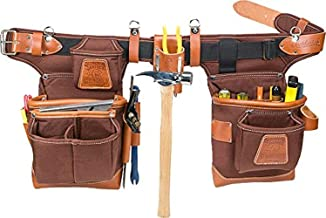 Occidental Leather 9855 Adjust-to-Fit Fat Lip Tool Bag Set – Cafe