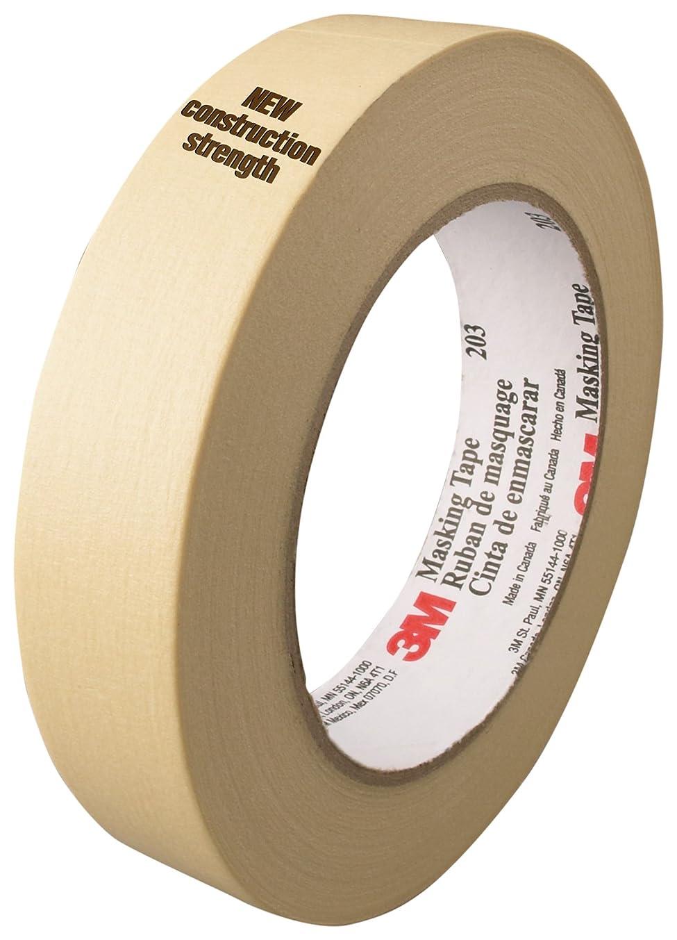 3M General Purpose Masking Tape 203 Beige, 48 mm x 55 m 4.7 mil, 24 per case Bulk
