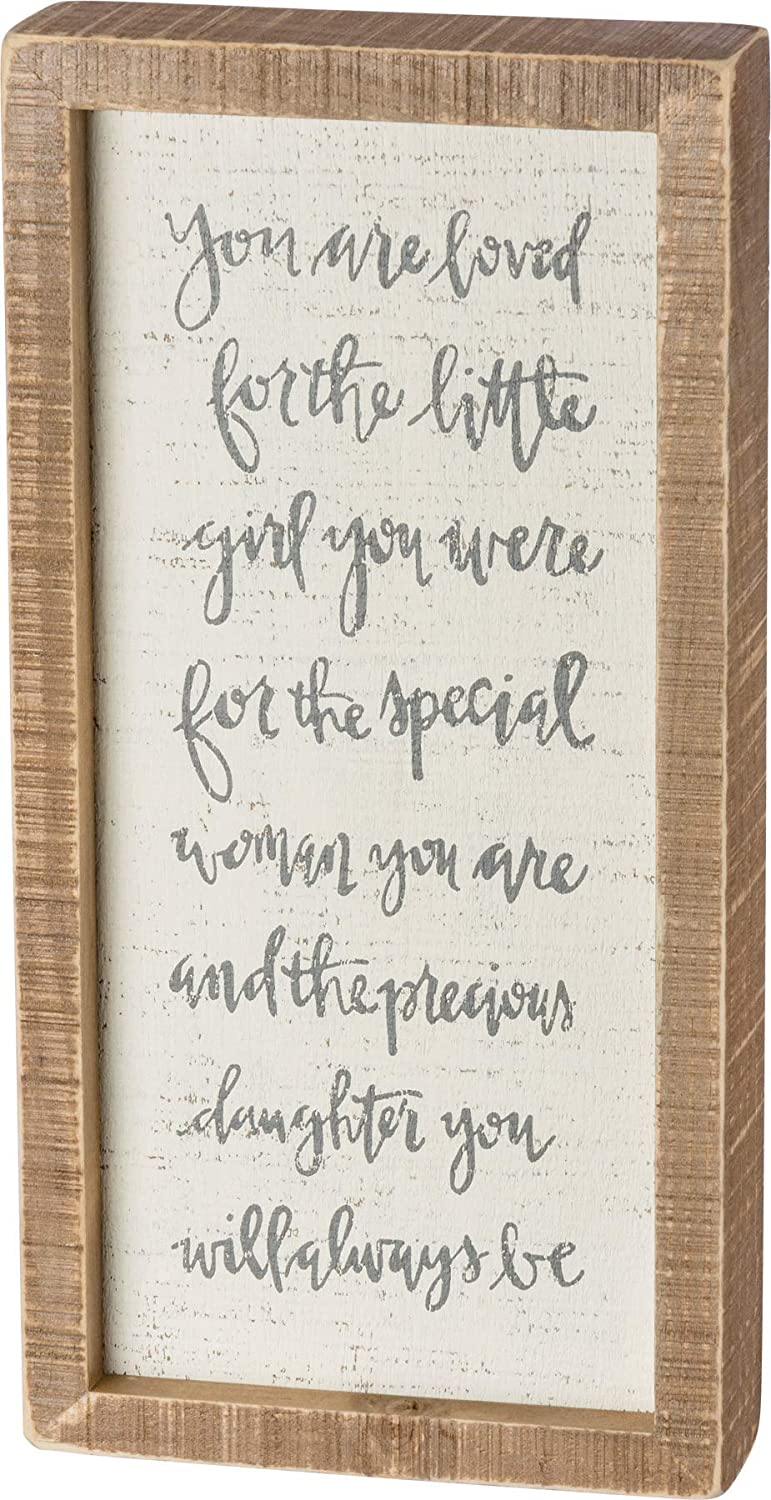 Store Primitives Excellent by Kathy 38499 Hand-Lettered Inset 6 Sign Box 12-I x