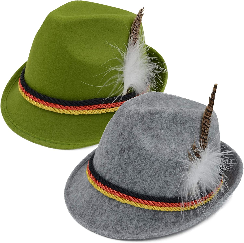 Ranking TOP16 specialty shop Melesh Oktoberfest German Hat Alpine Bavarian
