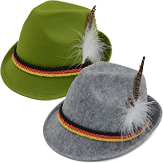 Melesh Oktoberfest German Alpine Bavarian Hat