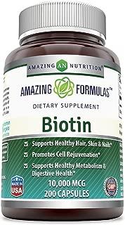 Best biotin vitamin 10000 mcg Reviews