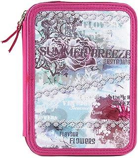 Target Targer Summer Breeze Mädchen Schüleretui Schoolbag Set, 22 cm, Multicolour (Blau/Rosa/Weiß)