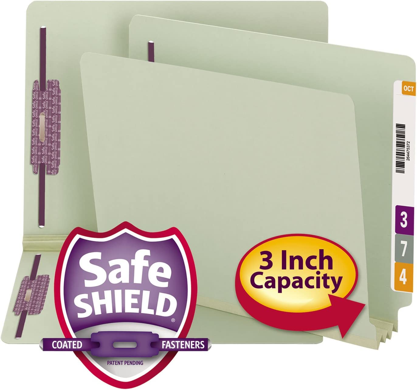 SMD34725 - Smead Spasm price Three Inch Folder Dealing full price reduction Expansion