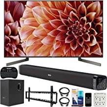 Sony XBR49X900F 49-Inch 4K Ultra HD Smart LED TV Bundle with Deco Gear 60W Soundbar, Wall Mount Kit, 2.4GHz Backlit Keyboard, 6-Outlet Surge Adapter and Screen Cleaner for LED TVs