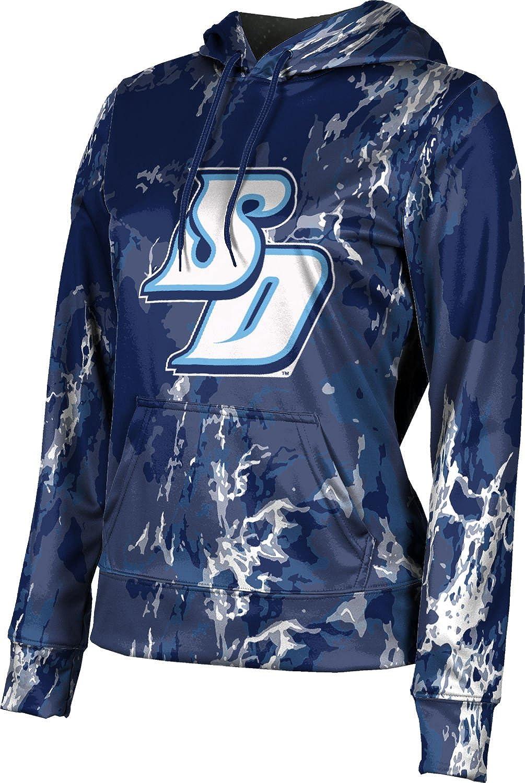 University of San Diego Girls' Pullover Hoodie, School Spirit Sweatshirt (Marble)