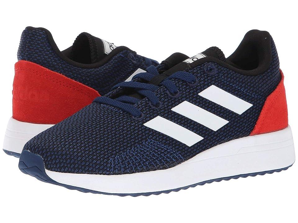 adidas Kids Run 70s (Little Kid/Big Kid) (Dark Blue/White/Hi-Res Red) Kid