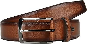 LLOYD Thin Leather Belt W135 Cognac - recortable