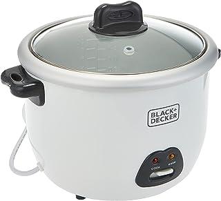 Black & Decker Rice Cooker 1.8 L (Rc1850-B5-Sp), White