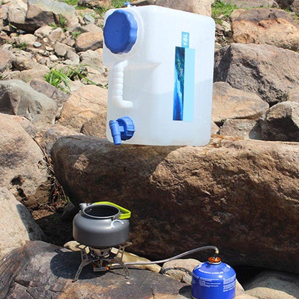 dep/ósito de Agua Mineral de Calidad alimentaria arthomer Recipiente de 10//15//18//22L con Grifo para Almacenamiento de Agua al Aire Libre Mesa de caf/é Catering Camping para Coche