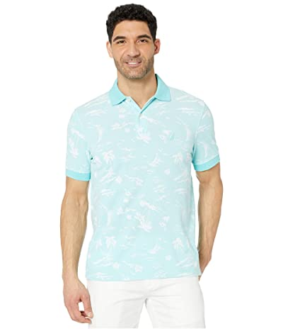 Nautica Pattern Polo (Blue 1) Men