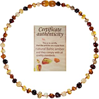 make your own amber teething necklace