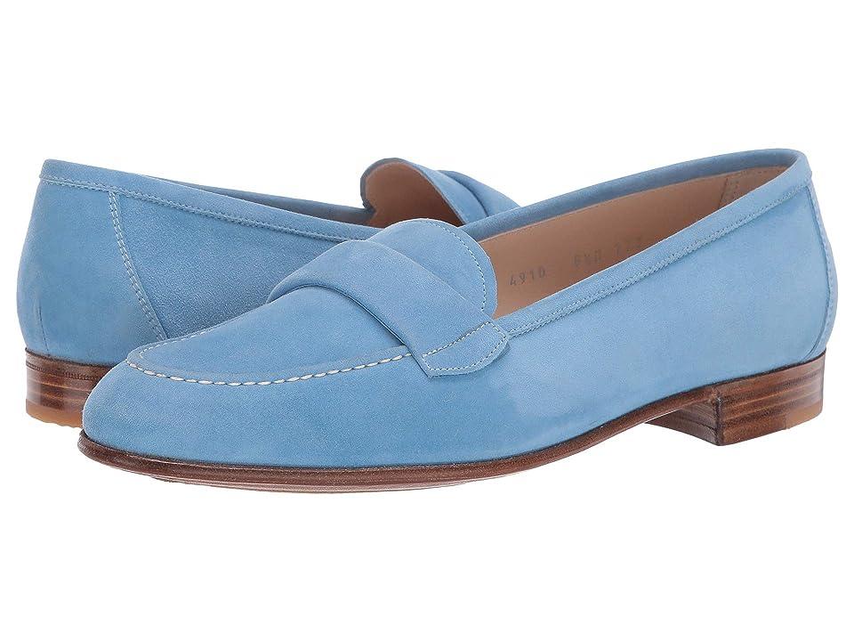 700936652f9 Gravati Blind Penny Loafer (Blue) Women s Shoes