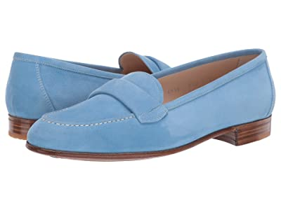 Gravati Blind Penny Loafer (Blue) Women