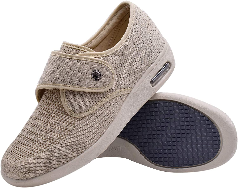 Large-scale sale JBTNBX Women's Popularity Diabetic Shoes with Width Lightwe Adjustable Wide