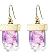 Lucky Brand - Drusy Drop Earrings