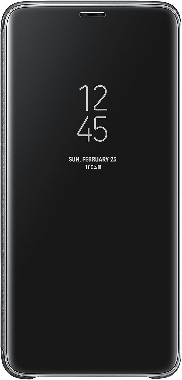 Samsung Galaxy S9+ S-View Flip Case with Kickstand, Black
